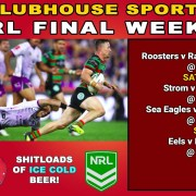 NRL RUGBY Final Week 1 LIVE at the Clubhouse Bali in Sanur