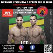 UFC Fight Night: Lee vs. Oliveira LIVE at the Clubhouse