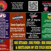 Clubhouse Sanur Bali COVID-19 Social Distancing Sports this week 17-AUG