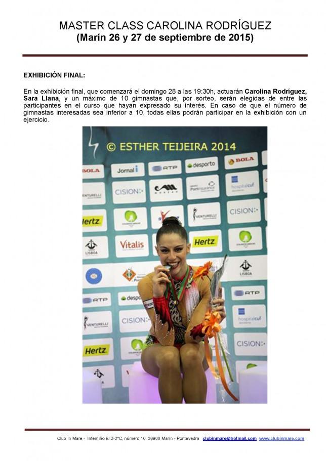 Carolina Rodríguez Master 5