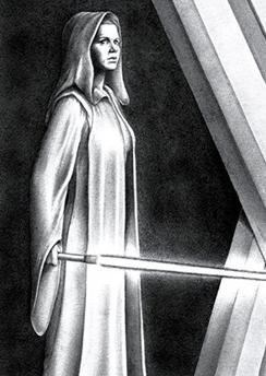 Leia Solo, Jedi Knight by FalconFan @ deviantart