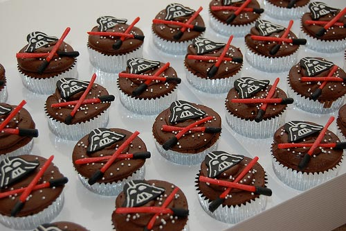 IMAGE: Vader cupcakes by katipeck @ Flickr