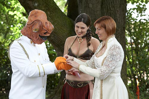 Star Wars wedding, photos from jwinokur @ Flickr