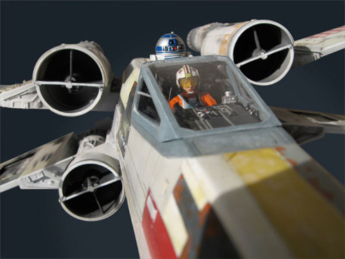 Luke Skywalker's ANH X-Wing by EFX