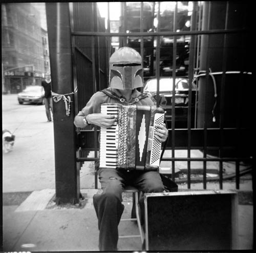 'Boba Fett with Accordion' by holly_northrop @ Flickr / CC BY-NC-ND 2.0