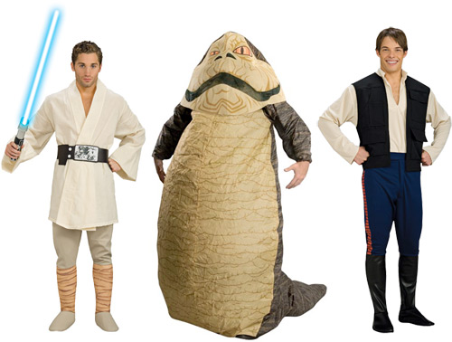 Protip: None of these costumes will get you laid, boys.
