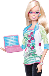 Computer Engineer Barbie