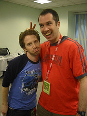 Seth Green and Matthew Senreich | Photo by Bonnie Burton | starwarsblog @ Flickr.com