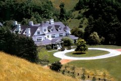The Main House at Skywalker Ranch
