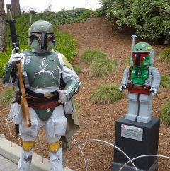 Boba Fett and LEGO Boba Fett