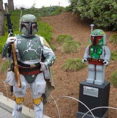Boba Fett and LEGO Boba Fett