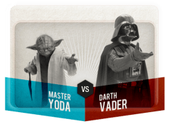 This Is Madness Yoda v Darth Vader