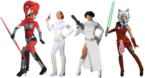 'Sexy' but screen-based costumes