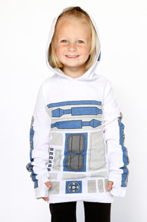 Her Universe R2-D2 costume hoodie for girls