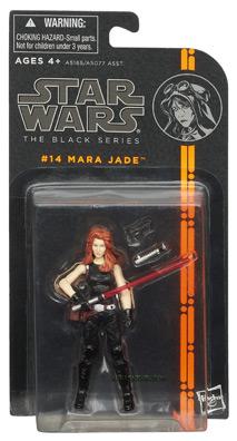 Hasbro's Black Series Mara Jade (carded)