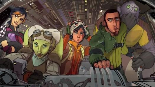 Rebels core cast