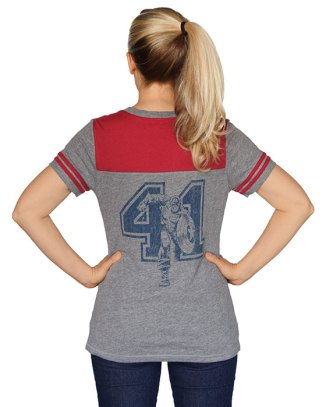 Captain America 41 Ladies' Jersey