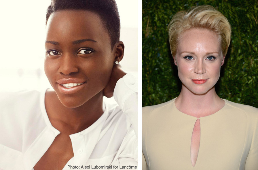 Two new ladies: Lupita Nyong'o and Gwendoline Christie join the cast of Episode VII