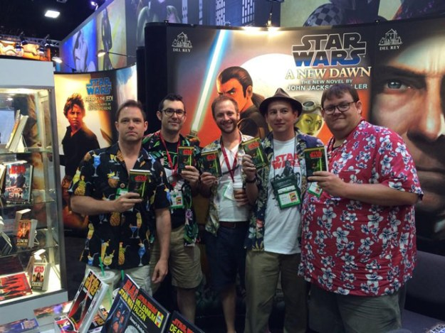 Del Rey crew at SDCC remembers Aaron