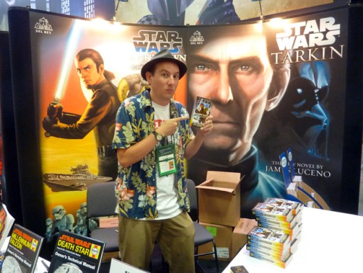 Jawajames (at SDCC.)