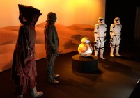 Desert Nomad, Junkyard Thug, BB-8 and First Order stormtroopers