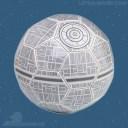 Death Star soccer ball 2.0 (Celebration Anaheim store)