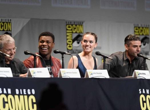 TFA @ SDCC: Lawrence Kasdan, John Boyega, Daisy Ridley and Oscar Isaac