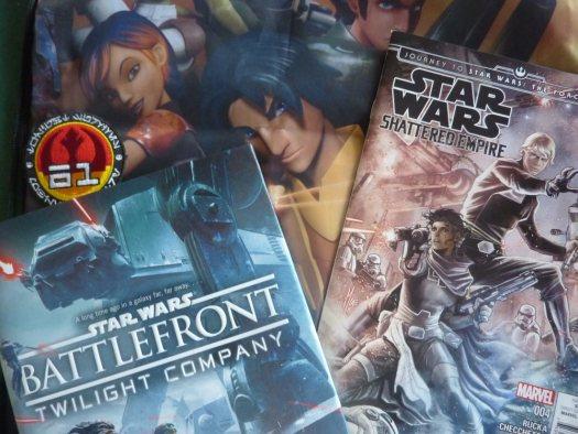 Unboxing Star Wars - Battlefront: Twilight Company, Shattered Empire, Rebels