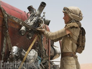 Rey on Jakku