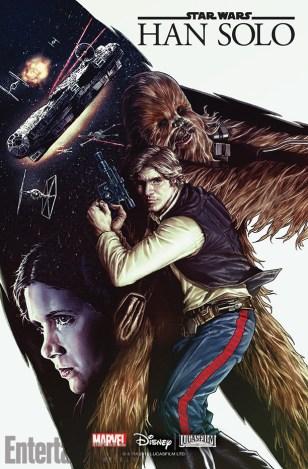 Han Solo #1 cover (Lee Bermejo)