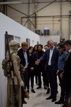 @KensingtonRoyal: Next up: a visit to the @starwars costume department @PinewoodStudios