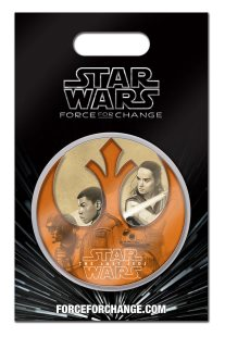The Last Jedi / Force for Change pin