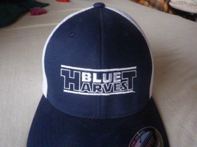 SWCVI exclusive Blue Harvest mesh ball cap