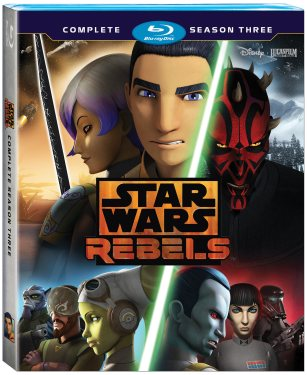 Star Wars Rebels: Complete Season Three (Blu-Ray)