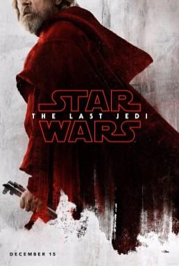The Last Jedi Luke poster