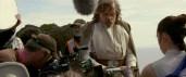 Luke takes the saber! (TLJ BTS)