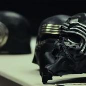 Kylo helmets (TLJ BTS)