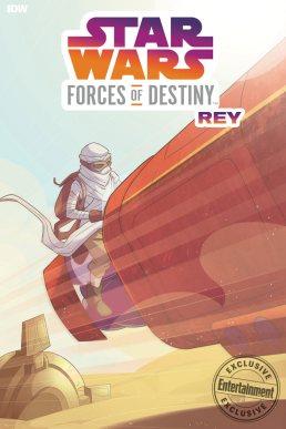 Forces of Destiny comic