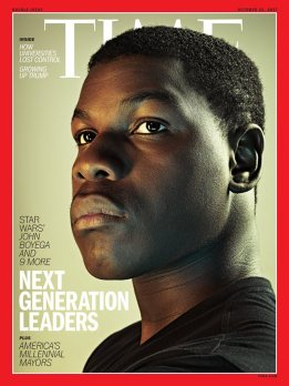 John Boyega's TIME cover (October 23 2017)