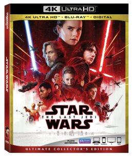 The Last Jedi Blu-ray 4K