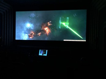 @RealRonHoward: #Solo vfx review with #ILM today at #SkywalkerRanch