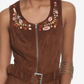 Hot Topic/Her Universe Solo faux suede zipper dress