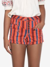 Hot Topic/Her Universe Solo striped high-waisted shorts