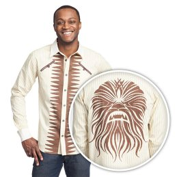Out West Wookiee Button Down Shirt