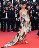 Thandie Newton's action figure gown