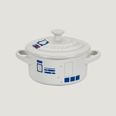 Le Creuset - R2-D2 Mini Cocotte - $30