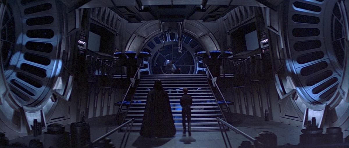 ROTJ: Luke, Vader, Palpatine