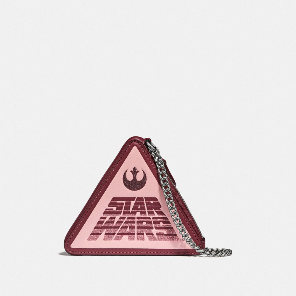 Star Wars X Coach Triangle Coin Case With Motif