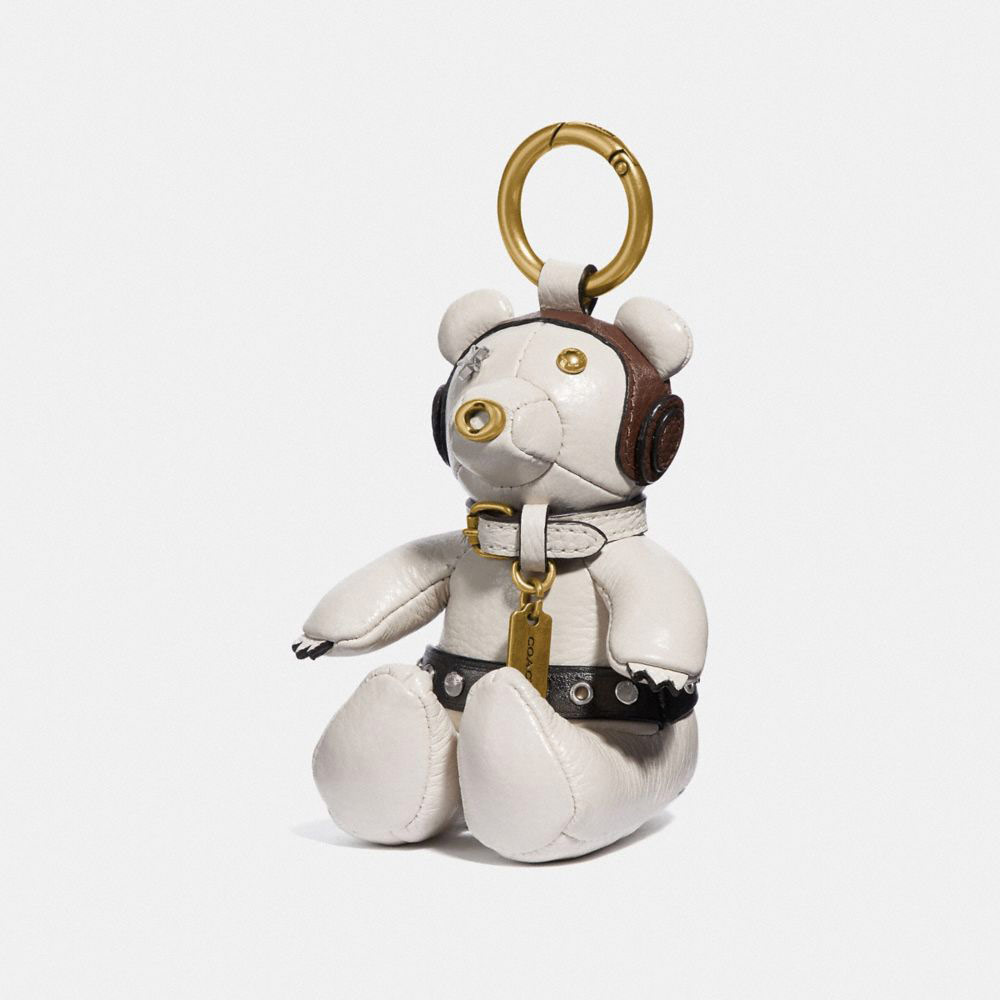 Star Wars X Coach Princess Leia Bear Bag Charm