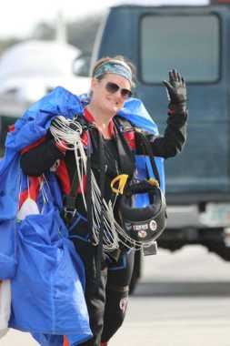 Cindy Stroup Skydive Club Jump IN Leader